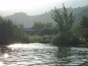 on the way back to Dalyan